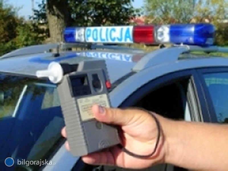 Pijani kierowcy wpadli wręce policjantów zbiłgorajskiej drogówki