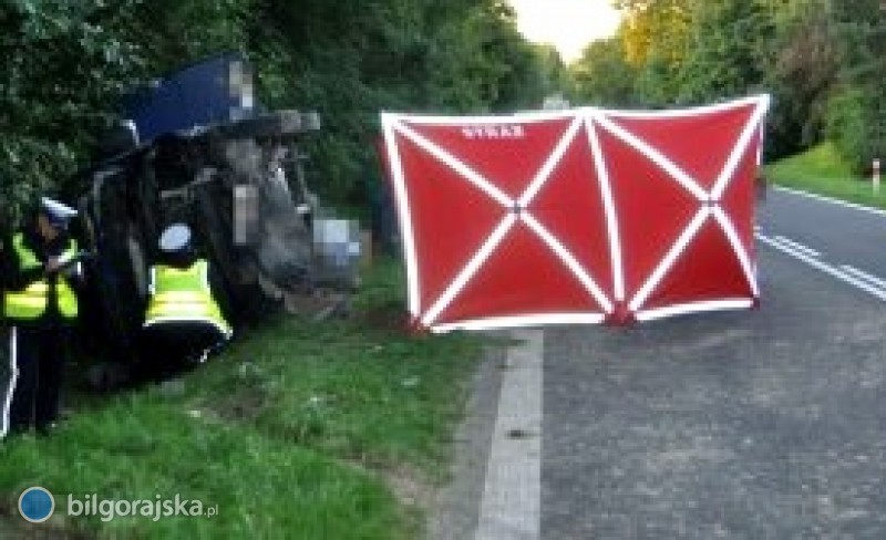 Śmiertelny wypadek na trasie 835 [AKTUALIZACJA]