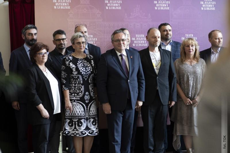 Teatr Osterwy przyjedzie do Tarnogrodu