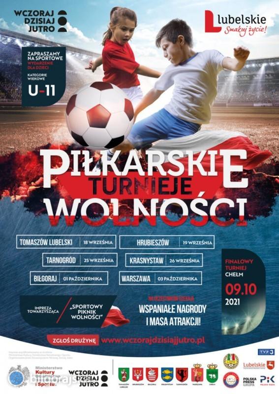 Piłkarski Turniej Wolności wBiłgoraju