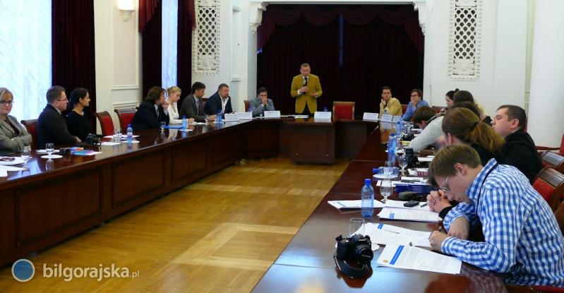 Delegacja zpowiatu wMoskwie