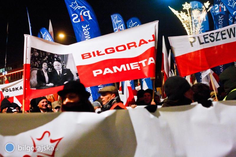 Biłgorajski PiS na Marszu Wolności
