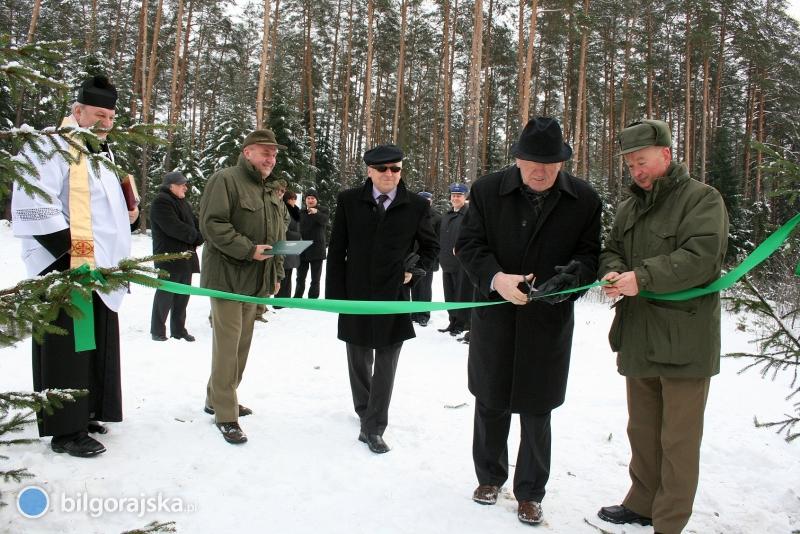 Uroczyste otwarcie zbiornika Bojary