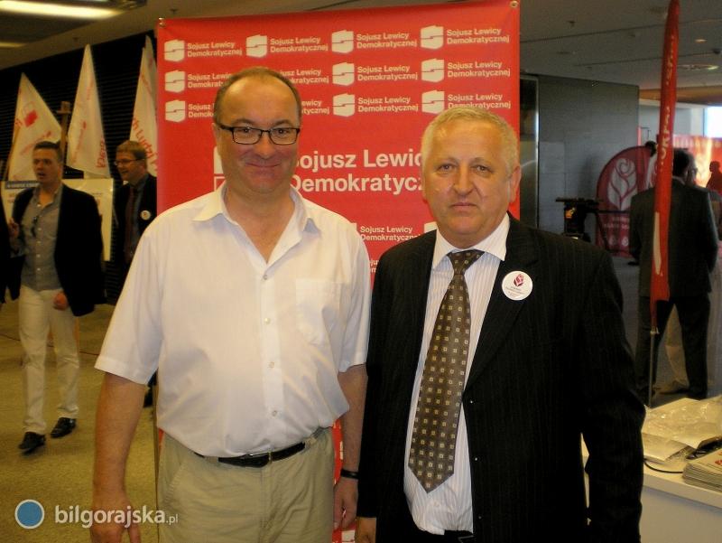 Przedstawiciele biłgorajskiego SLD na Kongresie Polskiej Lewicy