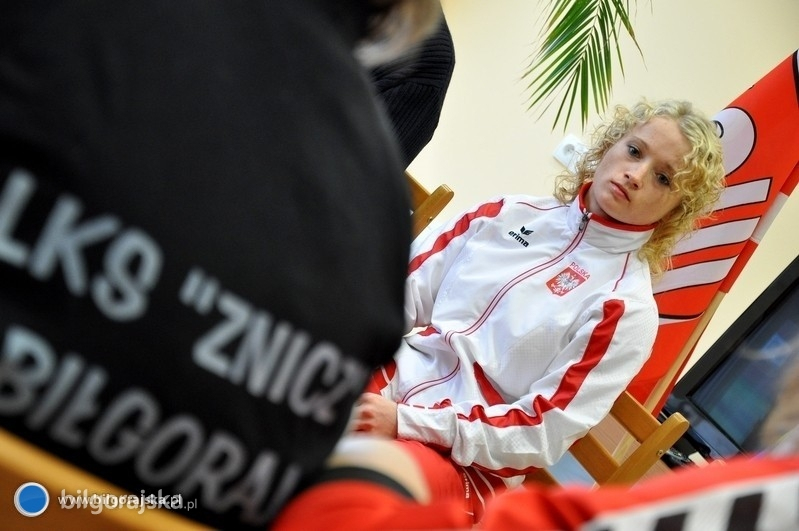Karpińska wraca, na razie poza podium
