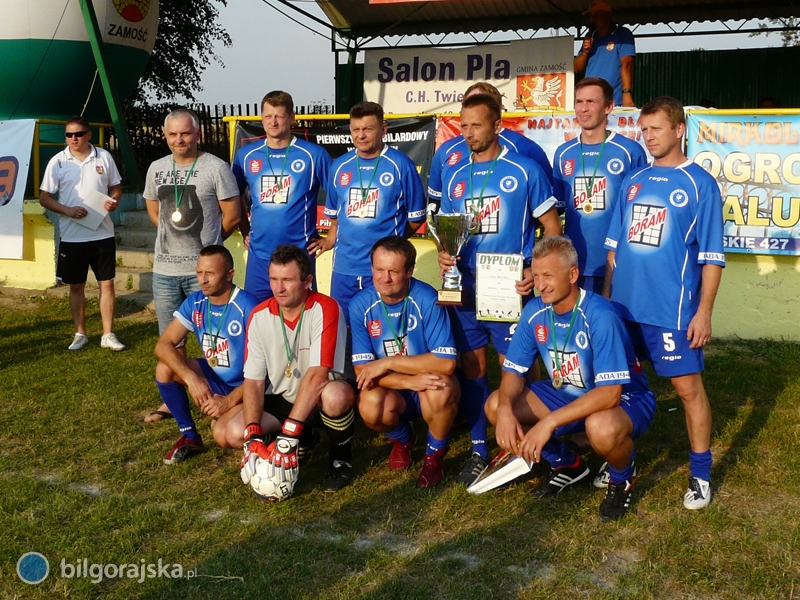 Oldboje Łady Biłgoraj zwycięzcami II Turnieju wpiłce nożnej