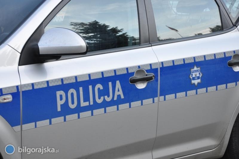 Radiowóz przejechał kurę, 76-latka ukarana mandatem