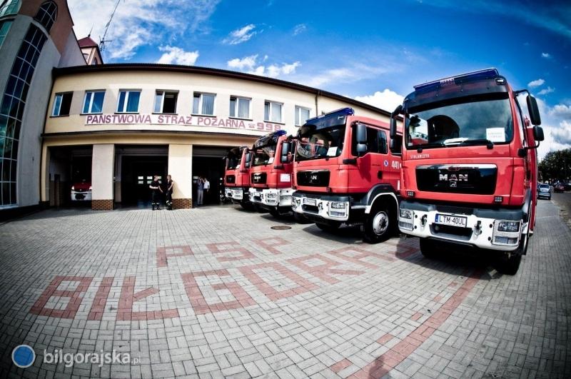 Podsumowanie pracy straży pożarnej w2014 r.