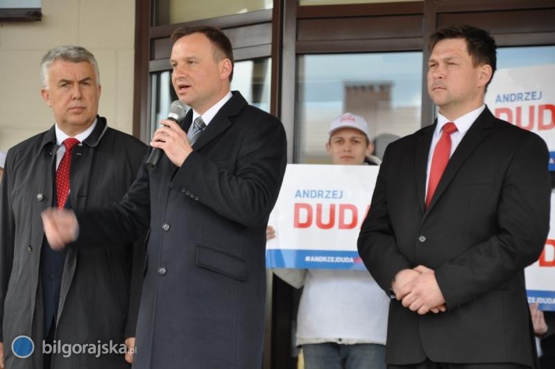 Andrzej Duda przekonywał biłgorajskich wyborców