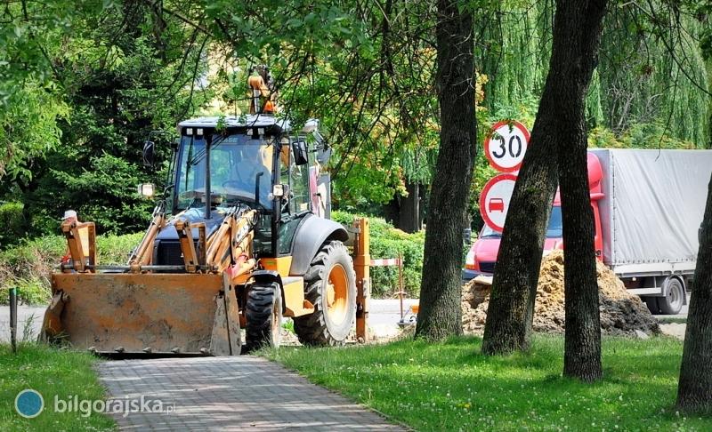 Rozpoczyna się remont pięciu ulic wBiłgoraju
